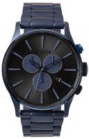 Nixon Sentry Chrono Watch - Deep Blue