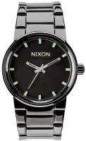 Nixon Cannon Watch - Polished Gunmetal / Lum