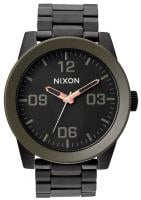 Nixon Corporal SS Watch - Matte Black / Industrial Green