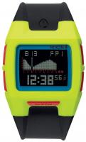 Nixon Lodown II Tide Watch - Chartreuse / Blue / Black