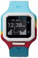 Nixon Supertide Tide Watch - Seafoam / Magenta / Yellow