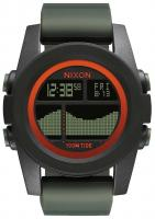 Nixon Unit Tide Watch - Black / Surplus / Orange