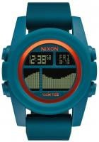 Nixon Unit Tide Watch - Teal / Orange