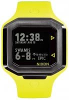 Nixon Ultratide Tide Watch - Neon Yellow / Gunmetal