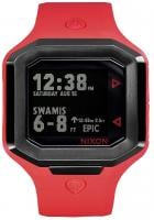 Nixon Ultratide Tide Watch - Red / Gunmetal