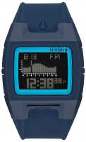 Nixon Lodown Silicone Tide Watch - All Dark Blue