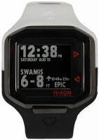 Nixon Ultratide Tide Watch - Black / White Split
