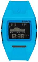 Nixon Lodown Silicone Tide Watch - Sky Blue