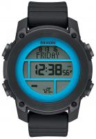 Nixon Unit Dive Watch - Black / Sky Blue / Gunmetal