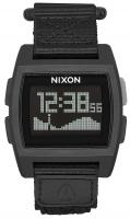 Nixon Base Tide Nylon Watch - All Black