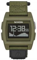 Nixon Base Tide Nylon Watch - Surplus