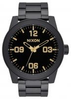 Nixon Corporal SS Watch - Matte Black / Gold