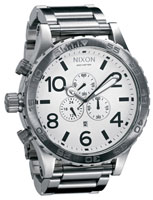 Nixon 51-30 Chrono Watch - White