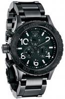 Nixon 42-20 Chrono Watch - All Black