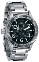 Nixon 42-20 Chrono Watch - Black