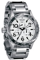 Nixon 42-20 Chrono Watch - White
