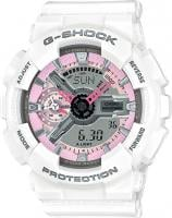 G-Shock S-Series Watch - White / Pink