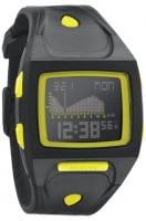Nixon Small Lodown Tide Watch - All Black / Lime