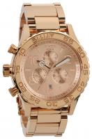Nixon 42-20 Chrono Watch - All Rose Gold