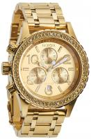 Nixon 38-20 Chrono Watch - All Gold Crystal