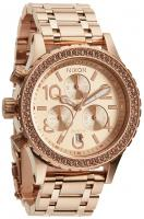 Nixon 38-20 Chrono Watch - All Rose Gold