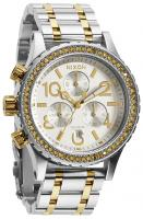 Nixon 38-20 Chrono Watch - Silver / Gold