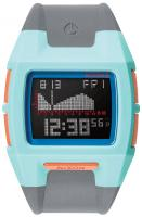 Nixon Lodown S Tide Watch - Light Blue / Charcoal / Pink