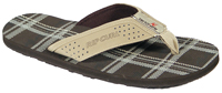Rip Curl Lowers Sandal - Chocolate / Check