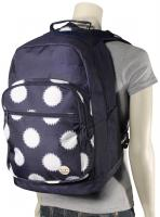 Roxy Grand Thoughts Backpack - Ikat Dots Peacoat