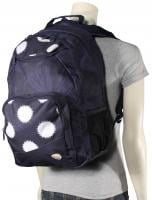 Roxy Shadow Swell Backpack - Ikat Dots Peacoat
