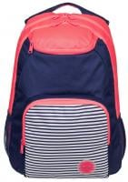 Roxy Shadow Swell Colorblock Backpack - Neon Grapefruit