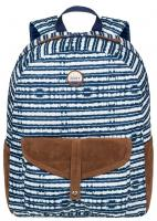 Roxy Carribean Backpack - Blue Depths Olmeque Stripe
