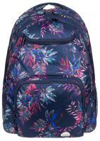 Roxy Shadow Swell Backpack - Dress Blues Cariban Flowers