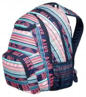 Roxy Shadow Swell 24L Backpack - Bright White Ax Boheme Border