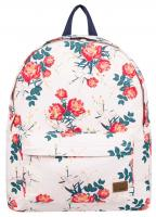 Roxy Sugar Baby Canvas 16L Backpack - Cloud Pink Garden Lily