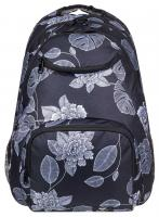 Roxy Shadow Swell 24L Backpack - Anthracite Flower Of Love
