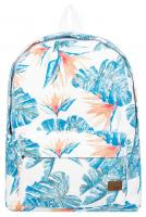 Roxy Sugar Baby Canvas 12L Backpack - Bright White Midnight Paradise