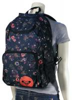 Roxy Shadow View Backpack - Bright Coral