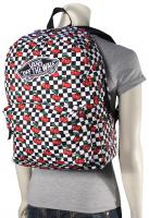 Vans Realm Backpack - Cherry Checkers