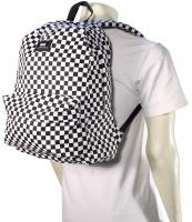 Vans Old Skool II Backpack - Black / White Check