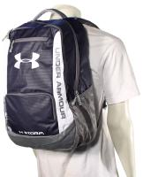 Under Armour Hustle Storm Backpack - Midnight Navy