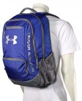 Under Armour Hustle Backpack - Royal / Silver