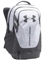 Under Armour Hustle Backpack - White / Graphite