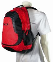 Oakley Base Load Backpack - Black / Red