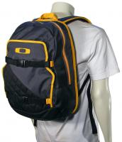 Oakley Streetman 2.0 Backpack - Grey / Orange