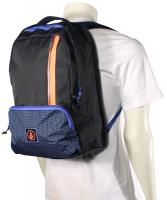 Volcom Basis Backpack - Blue Black