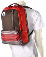 Volcom Basis Backpack - Burgundy