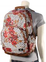 Volcom Fieldtrip Poly Backpack - Blood Red