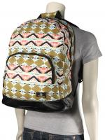 Volcom Schoolyard Canvas Backpack - Army