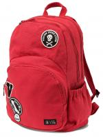 Volcom Fieldtrip Canvas 29L Backpack - Rad Red